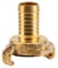 GARDENA 7102-20 Messing Klokobling-slangetilslutning Klokobling, 16 - 19 mm (3/4) dia