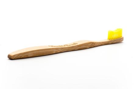 Humble Brush Bambu Tandborste Vuxen Gul