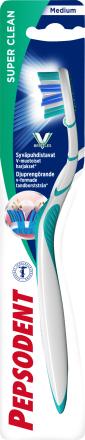 Pepsodent Tandborste Super Clean Medium