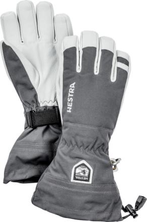 Army Leather Heli Ski Glove Harmaa 12