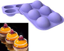 Ball Sphere Mold For Cake Pastry Chocolate Candy Fondant Bakewar Onesize
