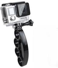 Handhållen Knogjärn Selfie Hållare för GoPro och Action Kame