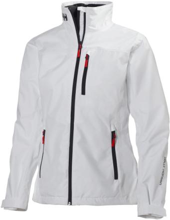 Crew Jacket Women Valkoinen M