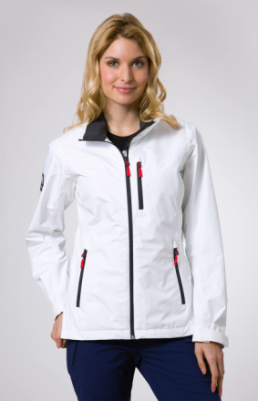 Crew Jacket Women Valkoinen L