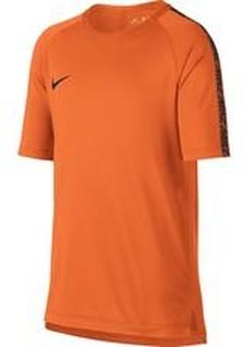 Nike Trenings T-Skjorte Breathe Squad - Oransje/Sort Barn