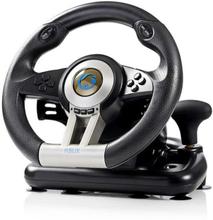 Nedis Racing ratt för PC med Gas / Broms Pedaler samt Växelspak