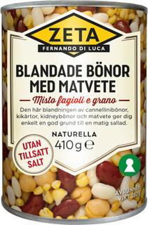 Blandade Bönor & Matvete - 22% rabatt