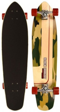 Black Dragon Longboard Camoflage