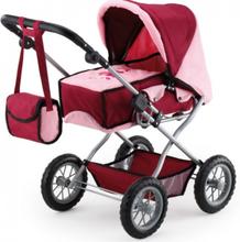Bayer Combi Grande dukkevogn Rød pink