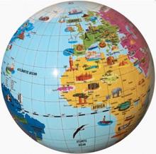 Caly 42 cm Globus MARVELS OF THE WORLD - god som badebold