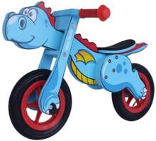 Dino Blå løbecykel fra 2-3 år fra Milly Mally