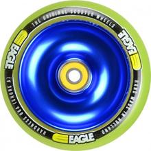 Eagle 110mm V2 Blå Kerne Hjul Komplet Grøn