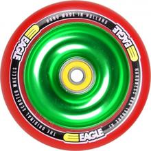 Eagle 110mm V2 Grøn Kerne Hjul Komplet Rød