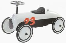 Gåbil Retro Roller MAX hvid