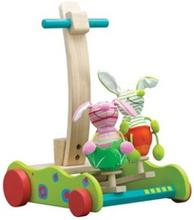 Gåvogn Softwood Bunny Walker