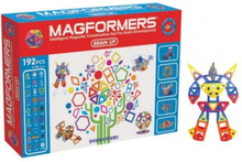 MAGFORMERS Brain Up Set 192 dele