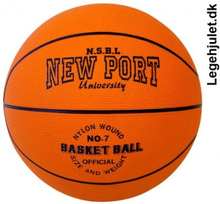 New Port Basket Ball størrelse 7 University