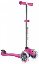 Pink Globber PRIMO 3 Hjulet LED 2-5 år