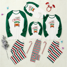 Christmas Xmas Kids Womens Mens Long Sleeve Nightwear Pajamas Kid 110 Cm