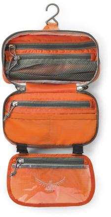 Ultralight Washbag Zip Oranssi