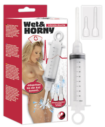 Wet and Horny Intimsprøjte