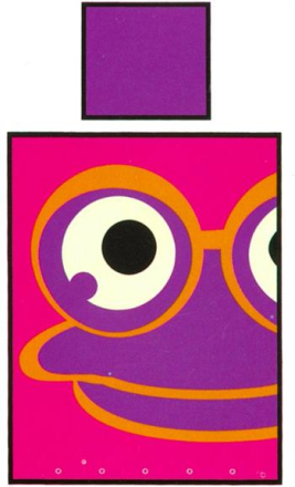 Økologisk Baby sengetøj - Freds World - 70x100 cm - Frø pink - Home-tex