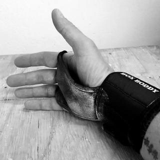 BOX BODDY Fitness Gloves (Storlek: Xtra Large svart)