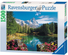 Mountain Lake at Matterhorn 1500pcs