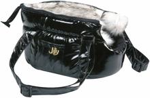 FLAMINGO bæretaske til kæledyr Lola sort 25 x 16 x 15 cm 503408