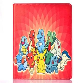 Pokemon etui til iPad 2/3/4 - Flower redish pokemons - Coolpriser