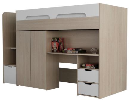 Loftseng Space – pult+garderobe FØR 5590.- NÅ 2740.-