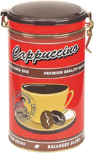 Kaffeburk rund Cappuccino