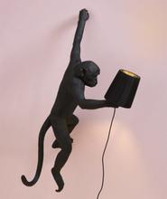 Lampskärm svart monkeylamp