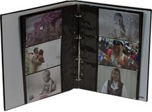 Focus Fotofickor svarta för 10x15 cm liggande bilder 10-blad