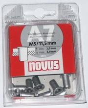 Nity typ AM w blistrze (aluminiowe metryczne) 9,0/M6/15,0 x 10