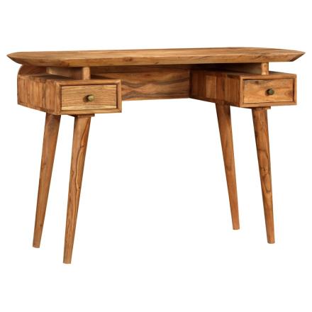 vidaXL Kirjoituspöytä kiinteä akaasiapuu 120x50x77 cm