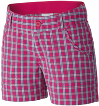 Silver Ridge III Girls Plaid Short Pink L