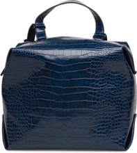 Luiza Cube Holdall Bags Bucket Bag Blå French Connection