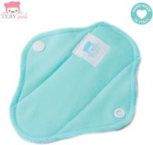 Teby Pink - mini Slipeinlage (Bio-Baumwoll-Velour) - Mint