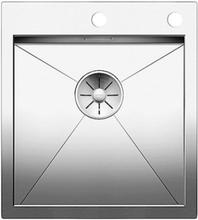 Blanco Zerox 400-IF/A MXI Kjøkkenvask 46c51 cm m/PushControl & InFino kurvventil, Rustfritt Stål
