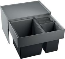 Blanco Select XL 60/3 Affaldssystem, 3 spande, Montering på låge med udtræk