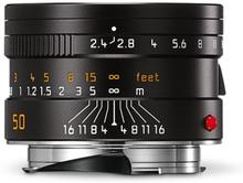 Leica Summarit-M 50 mm f/2,4 svart