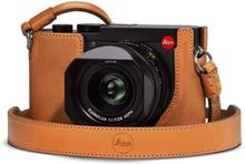 Leica Kameraskydd brunt läder, Q2