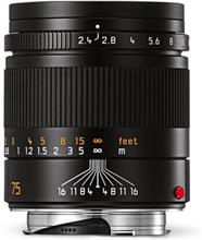 Leica Summarit-M 75 mm f/2,4 svart