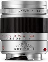 Leica Summarit-M 75 mm f/2,4 silver