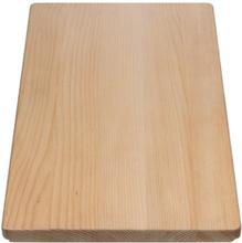 Blanco skærebræt 26 x 53 cm til Elon, Metra, Lantos og Lexa køkkenvaske i bøgetræ