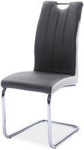 Krzesło Gerardina (szary/boki jasny szary)