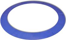 vidaXL Kantskydd PE blå för 12 fot/3,66 m rund studsmatta