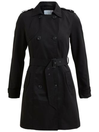 VILA Transitional Jacket Women Black