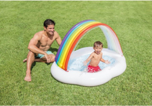 RAINBOW CLOUD BABY POOL 1.42mx1.19mx84cm